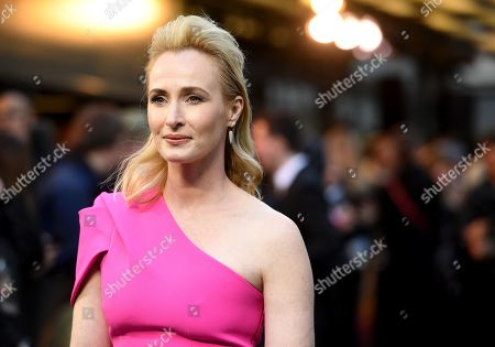 Genevieve O'Reilly arrives to the British premiere of 'Tolkien' at the Curzon cinema in Mayfair in London, Britain, 29 April 2019. The movie opens across UK theaters on 03 May.