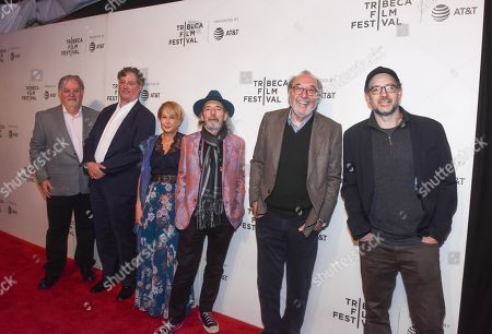 Editorial image of 'The Simpsons' TV show 30th anniversary screening, Tribeca Film Festival, New York, USA - 28 Apr 2019