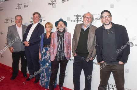 Matt Groening, Al Jean, Yeardley Smith, Harry Shearer, James L Brooks and Matt Selman