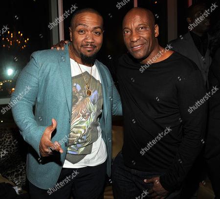 Timbaland and John Singleton