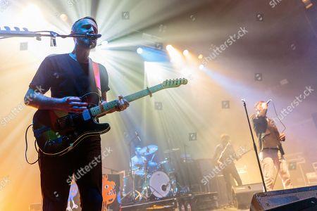 Editorial photo of Idlewild in concert, Birmingham, UK - 28 Apr 2019