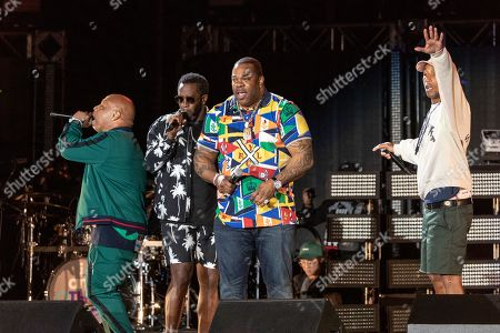 Sean Combs, Busta Rhymes and Pharrell Williams