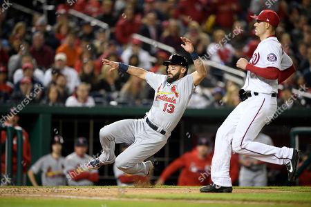 Editorial picture of Cardinals Nationals Baseball, Washington, USA - 29 Apr 2019
