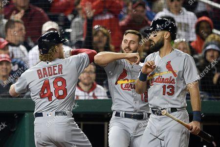 Editorial photo of Cardinals Nationals Baseball, Washington, USA - 29 Apr 2019
