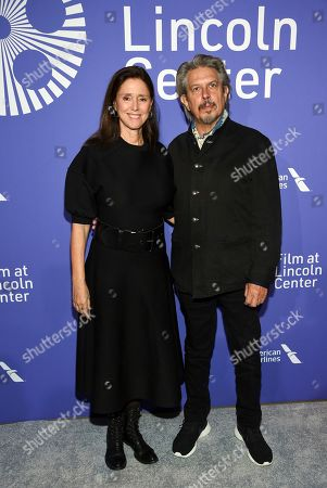 Julie Taymor, Elliot Goldenthal. Director Julie Taymor, left, and husband Elliot Goldenthal attend the Film Society of Lincoln Center's 50th anniversary gala at Alice Tully Hall, in New York