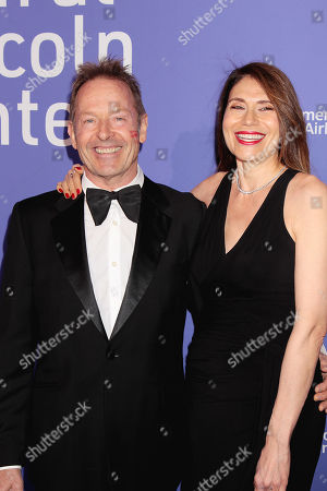Simon Kirk with Wife