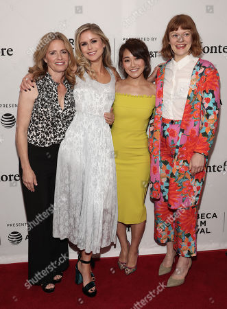 Elisabeth Shue, Erin Moriarty, Karen Fukuhara and Colby Minifie