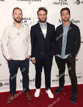 Executive Producers Evan Goldberg, Seth Rogen and James Weaver
