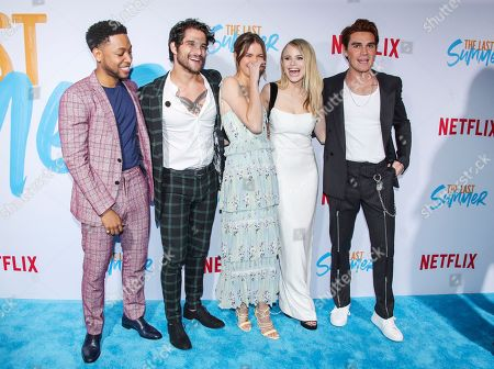 Editorial image of 'The Last Summer' Film Premiere, Arrivals, TCL Chinese 6 Theatre, Los Angeles, USA - 29 Apr 2019
