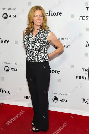 """Elisabeth Shue attends a screening of """"Tribeca TV - The Boys"""" during the 2019 Tribeca Film Festival at the SVA Theatre, in New York"""