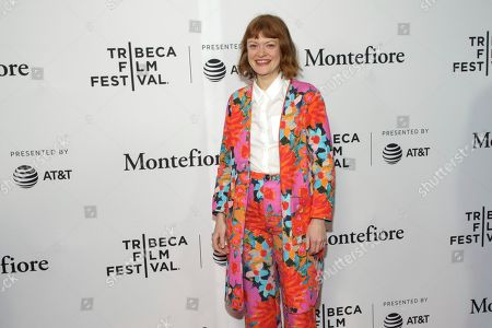 """Colby Minifie attends a screening of """"Tribeca TV - The Boys"""" during the 2019 Tribeca Film Festival at the SVA Theatre, in New York"""