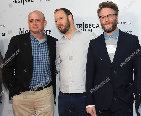 Eric Kripke, Evan Goldberg and Seth Rogen
