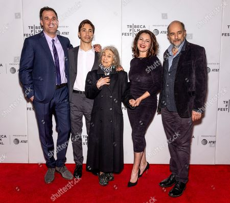 Daniel Schechter Justin Long, Lynn Cohen, Fran Drescher and Richard Schiff