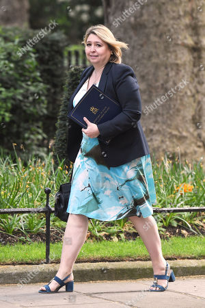 Karen Bradley, Secretary of State for Northern Ireland, arrives for a cabinet meeting at No.10 Downing Street