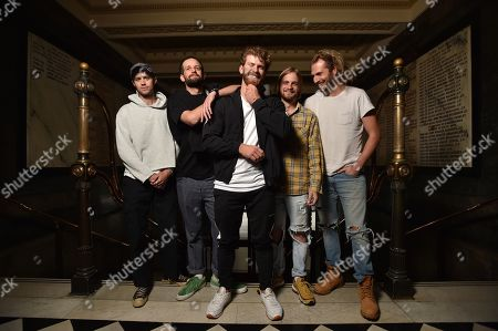 Editorial image of The Rubens' rehearsal at Melbourne Town Hall, Australia - 30 Apr 2019