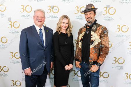 Editorial photo of 30th Annual Goldman Environmental Prize Ceremony, San Francisco, USA - 29 Apr 2019
