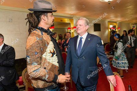 Michael Franti, Al Gore