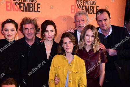 Editorial photo of 'Nous Finirons Ensemble' Film premiere, Paris, France - 29 Apr 2019