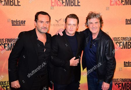 Gilles Lellouche, Benoit Magimel, Francois Cluzet