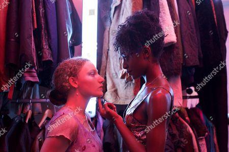 Tallulah Haddon as Leila/Shadowfax and Simona Brown as Tess/Mania
