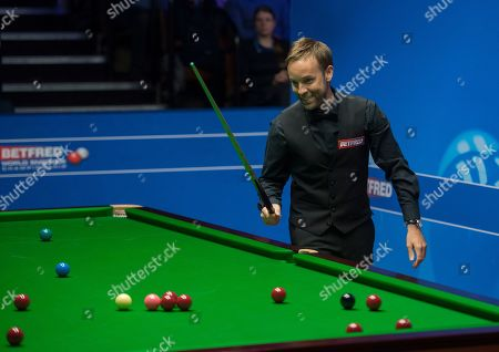 Editorial photo of Betfred World Championships, Snooker, Day Eleven, The Crucible Theatre, Sheffield, UK, 30 Apr 2019