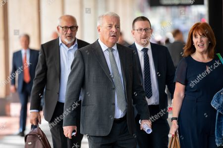 Stock Photo of Labour MP Ian Lavery (centre) arrives at Labour Party headquarters for National Executive Meeting at which Labour's position on a second EU vote will be decided.