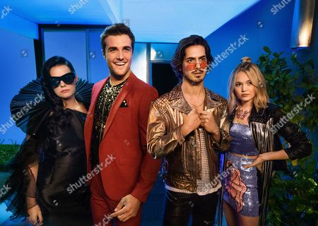 Roxane Mesquida as Severine Bordeaux, Beau Mirchoff as Ford Halstead and Avan Jogia as Ulysses Zane and Kelli Berglund as Carly Carlson