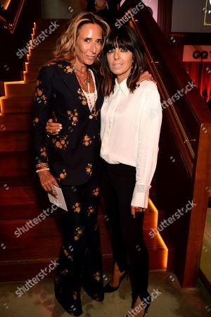 Tara Bernerd and Claudia Winkleman