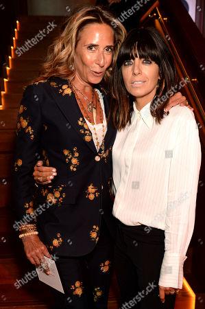 Stock Photo of Tara Bernerd and Claudia Winkleman