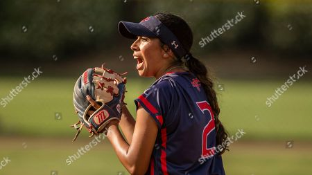 St, Mary's College Nikki Alexander during an NCAA softball game on in Stockton, Calif