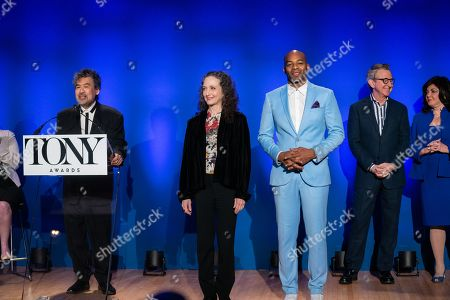 David Henry Hwang, Bebe Neuwirth and Brandon Victor Dixon
