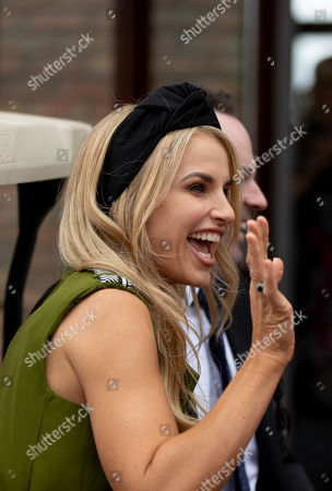 Stock Picture of Vogue Williams arrives in Punchestown