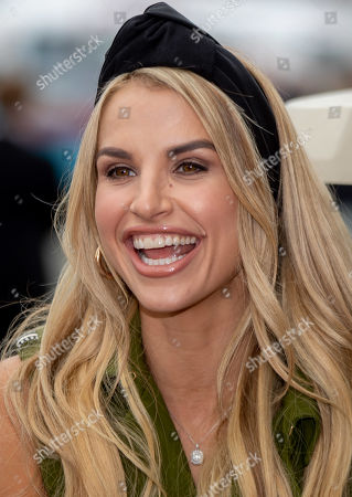 Vogue Williams arrives in Punchestown