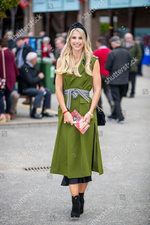 Stock Image of Vogue Williams in Punchestown