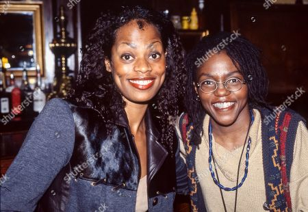 Des'ree and Carleen Anderson attend The BRIT Awards Launch 1995