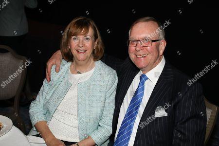 Mr & Mrs John Deacon attend the MITS Award 2018