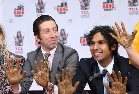 Simon Helberg and Kunal Nayyar
