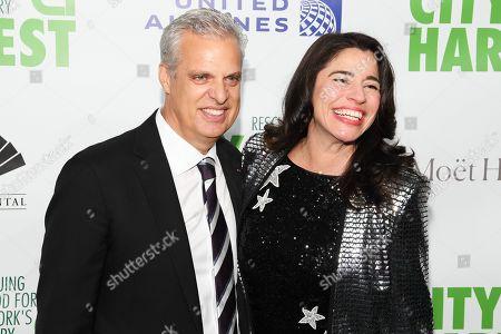 Eric Ripert and Sandra Ripert