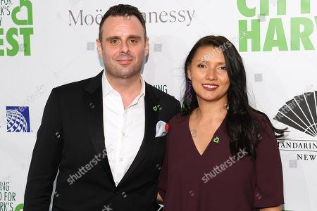 Markus Glocker and Klavdia Ramnareine