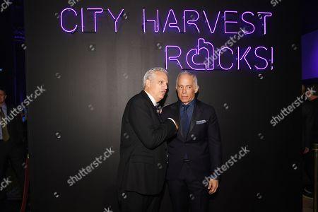 Eric Ripert and Geoffrey Zakarian