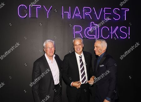 Richard Gere, Eric Ripert and Geoffrey Zakarian