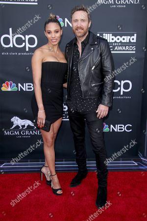 Stock Picture of Jessica Ledon and David Guetta