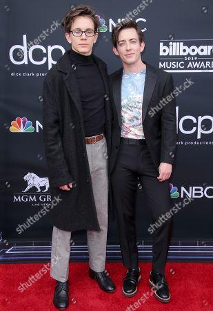 Austin McKenzie and Kevin McHale