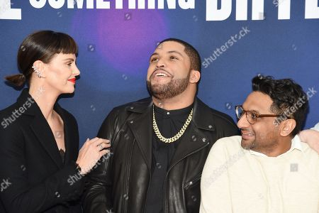 Charlize Theron, O'Shea Jackson Jr., and Ravi Patel