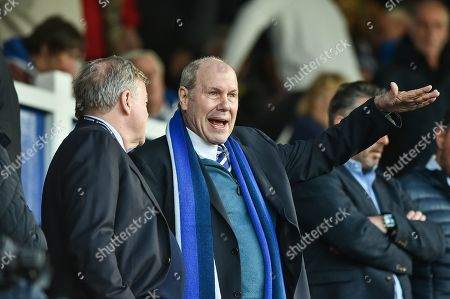 Portsmouth Chairman, Michael Eisner during the EFL Sky Bet League 1 match between Portsmouth and Peterborough United at Fratton Park, Portsmouth