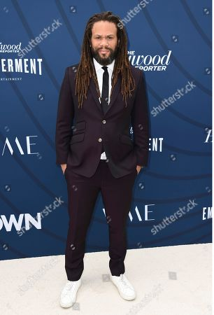 Franklin Leonard arrive at THR's Empowerment in Entertainment Gala at Milk Studios, in Los Angeles