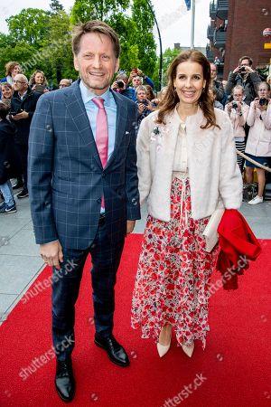Prince Pieter-Christiaan and Princess Anita, Theater Figi