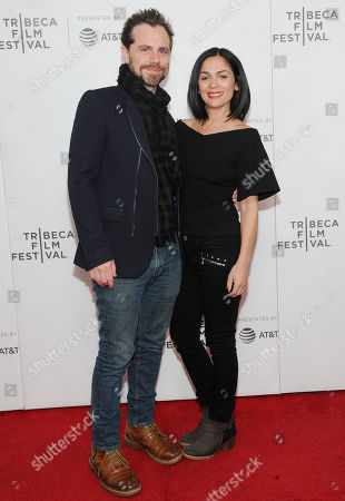 Stock Picture of Rider Strong and Alexandra Barreto