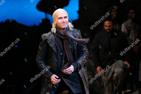 Eugene McCoy (Dr Carrasco/The Duke) during the curtain call