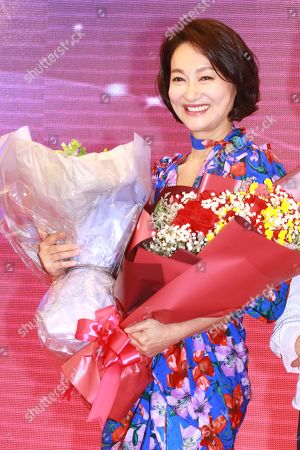 Editorial image of Kara Wai celebrates winning the 'Best Actress of Hong Kong' award, Hong Kong, China - 29 Apr 2019